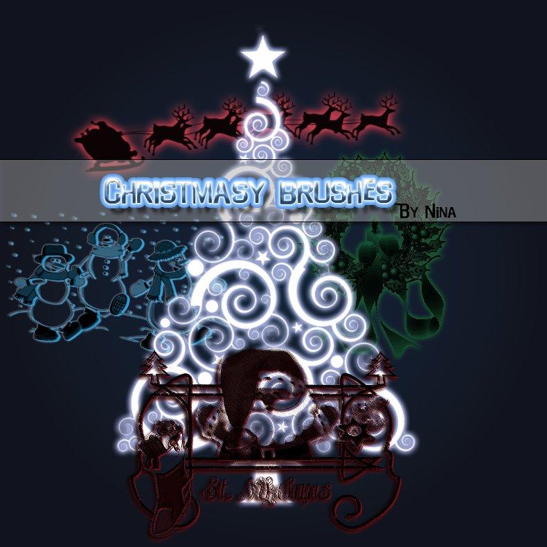 Christmas_brushes_by_flina