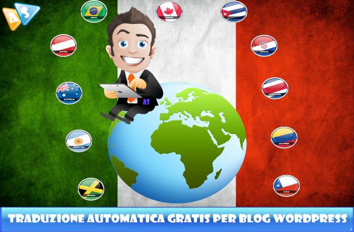 Traduzione automatica gratis per blog wordpress