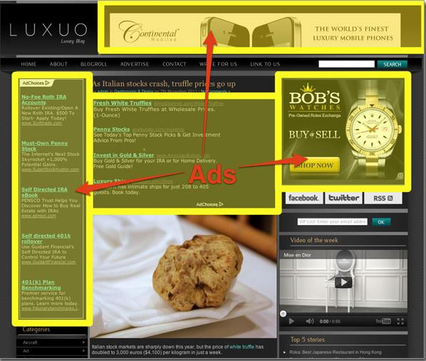 guadagnare con banner pubblicitari sul proprio sito