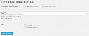 NewsLetterMailPoet1