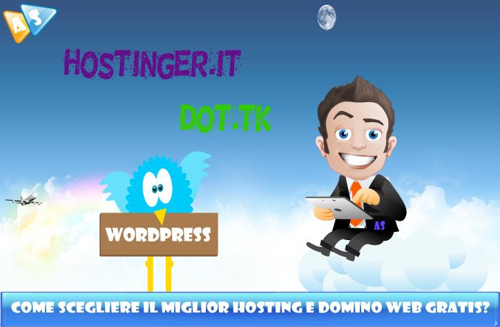 Come scegliere il miglior hosting e dominio web gratis