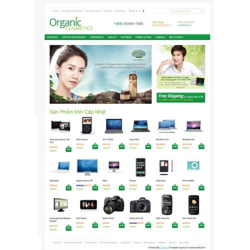 Tempalte Organic