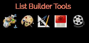List Builder Tools