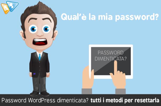 Password-WordPress-dimenticata