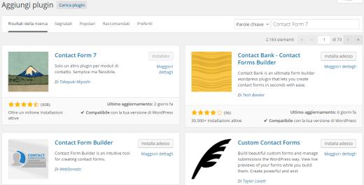 Plugin-WordPress-lista
