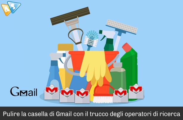 Pulire la casella di Gmail