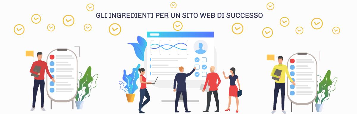 Quali sono gli ingredienti per un buon sito web? 6 aspetti